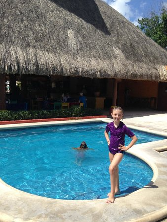 Mr Sanchos Beach Club Cozumel: Pool for the a la carte customers - free to use.