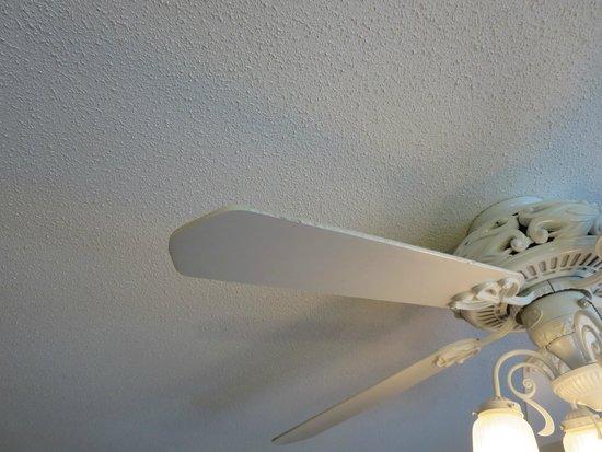Harrison Hot Springs Resort & Spa: dusty ceiling fan