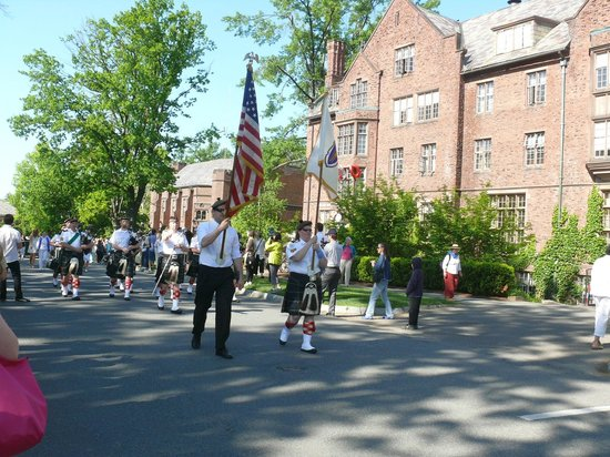 Mount Holyoke College: Graduation weekend at Mt. Holyoke College.