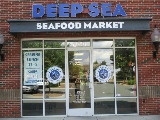 A great find deep sea seafood market charlotte for Fish market charlotte