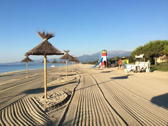 Camping Arinella Bianca: la plage