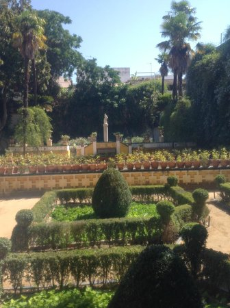 Casa de Pilatos: Jardim
