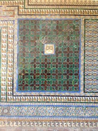 Casa de Pilatos: Detalhe de azulejaria
