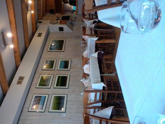 Le Baccarat : Salle intérieur du restaurant