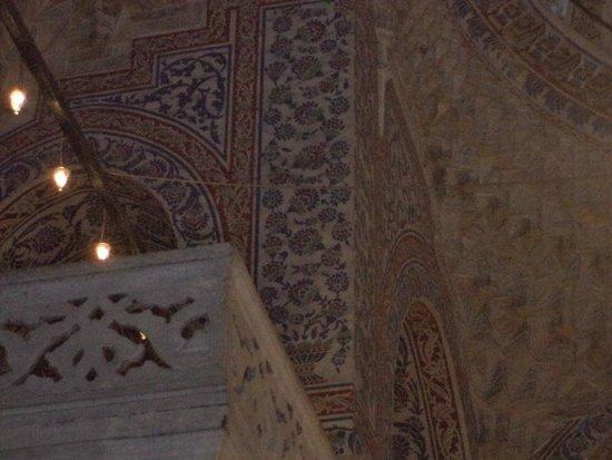 Mezquita Azul: inside