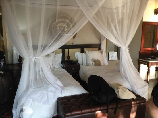 Jock Safari Lodge : Very comfy beds