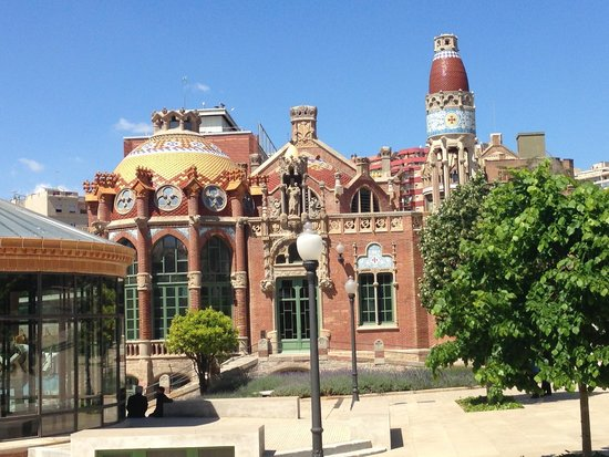 Recinte Modernista de Sant Pau: The obsesion of the Modernist architects with cupoles
