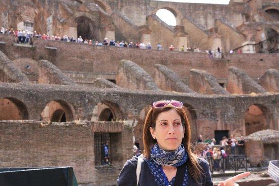 Through Eternity Cultural Association : Our fabulous tour guide, Vanessa