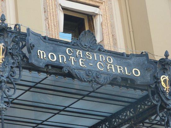 Casino Square : Marquesina