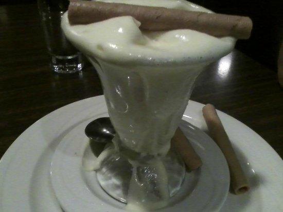 Marin Joe's Restaurant : Zabaglione