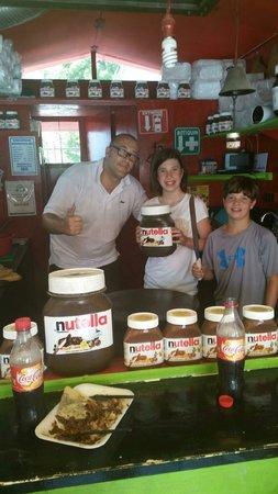 La Crepacabana : Kids love the crepes