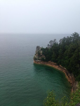 Pictured Rocks National Lakeshore: Miner's Castle