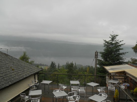 Foyers House: View from room - bad weather