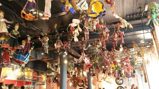 Masala Zone Covent Garden : Masala zone ceiling