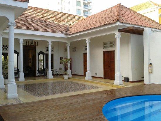 Casa Bustamante Hotel Boutique : der Poolbereich
