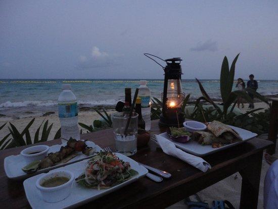 Fusion Bar & Restaurant : Dinner vista
