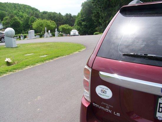 Hope Cemetery: Soccer Ball Grave Marker