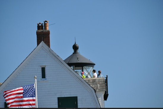 Rockland Breakwater Light: The lighthouse.