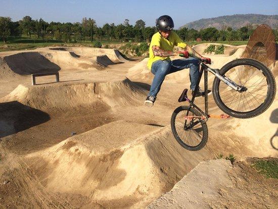 Parque Metropolitano: Área para las BMX.