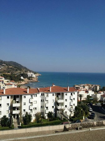 Melia Sitges: View from room during day