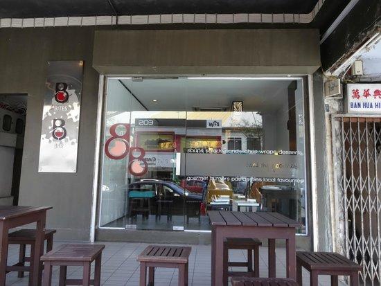 Kuching Esplanade: Cafe