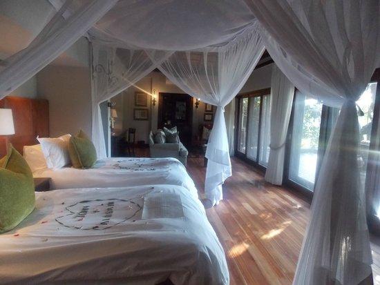 Lion Sands - Tinga Lodge: Amazing spacious rooms