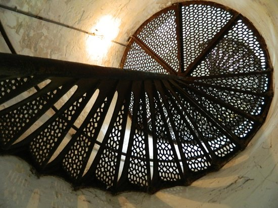 Cana Island Lighthouse: Looking up in lighthouse