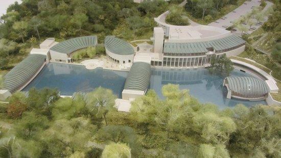 Crystal Bridges Museum of American Art: Architect's Drawing