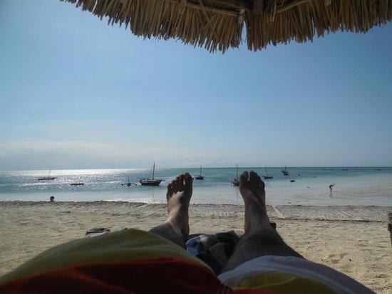 DoubleTree by Hilton Resort Zanzibar - Nungwi: View from Sunbathing