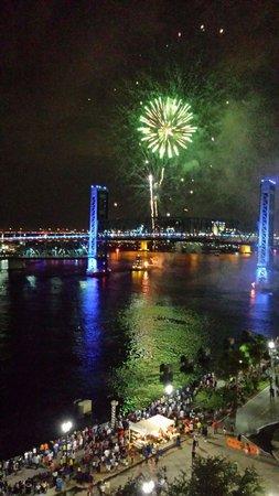 Hyatt Regency Jacksonville Riverfront: View from Room