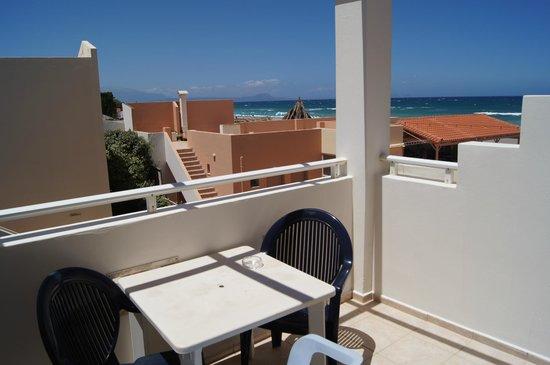 Galeana Mare Hotel Apartments : Балкон