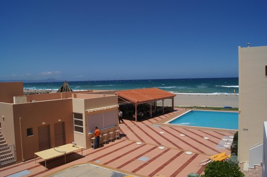 Galeana Mare Hotel Apartments : Вид с балкона