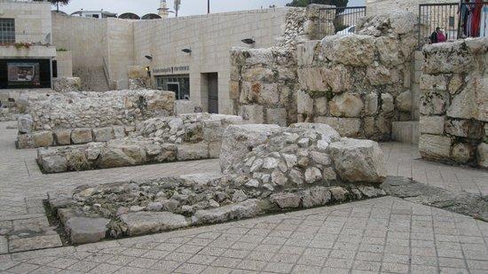 Old City of Jerusalem: Entrance to museum of Old City Foundation