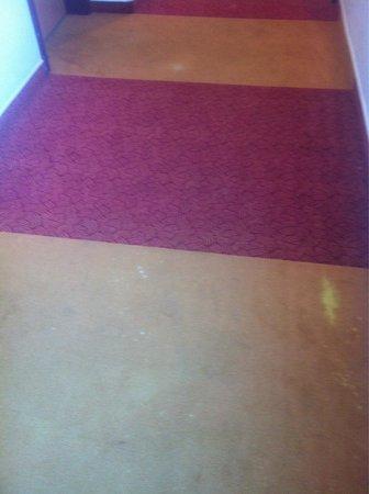 Mercure Budapest City Center: Carpet