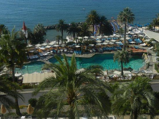 La piscine de l'hôtel - Royal Hotel SanRemo