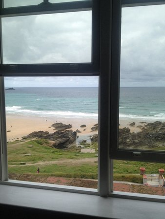 The Headland Hotel & Spa - Newquay: View from bedroom window