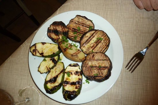 Naif: grilled vegetablesca