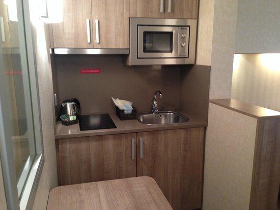 Aparthotel Silver: Кухня