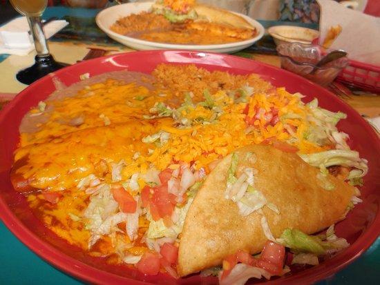Plaza Bonita mexican: Very Large Portions