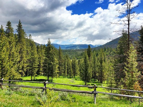 Elkhorn Ranch: View on a Trail Ride