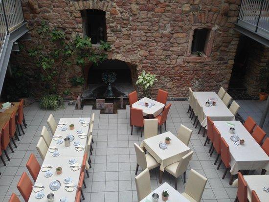 Hotel & Cafe Ritter von Bohl : The breakfast area/restaurant