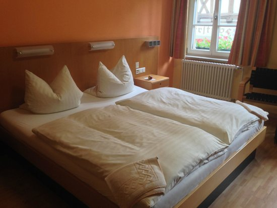 Hotel & Cafe Ritter von Bohl : The room - double