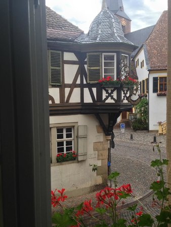Hotel & Cafe Ritter von Bohl : View from our room
