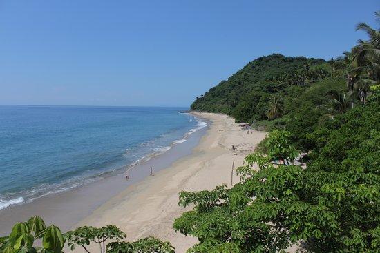 Punta Monterrey Beach: View from Cabaña Rustica 1 - Terrace