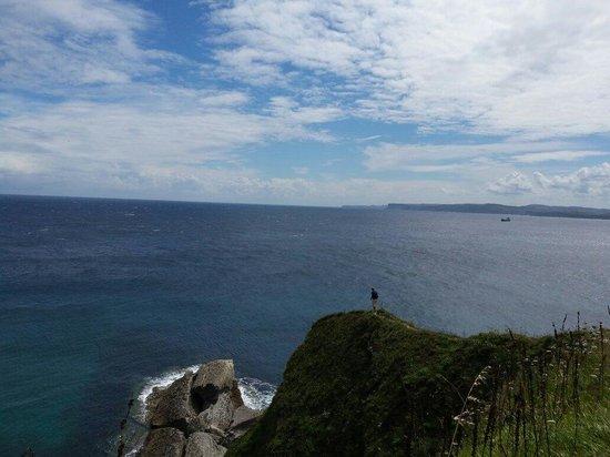 Parque de Cabo Mayor: Me and the mighty Atlantic Ocean!