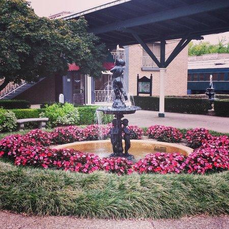 Chattanooga Choo Choo: Hotel grounds