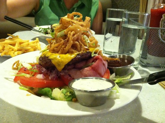 The Counter: Burger in a Bowl - Excellent - very tasty