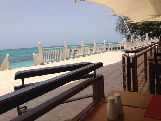 Royal Decameron Montego Beach: View from my breakfast table in the main dining room