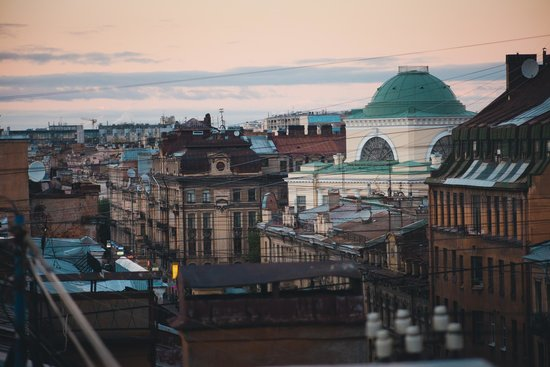 Rooftop Tours in St. Petersburg
