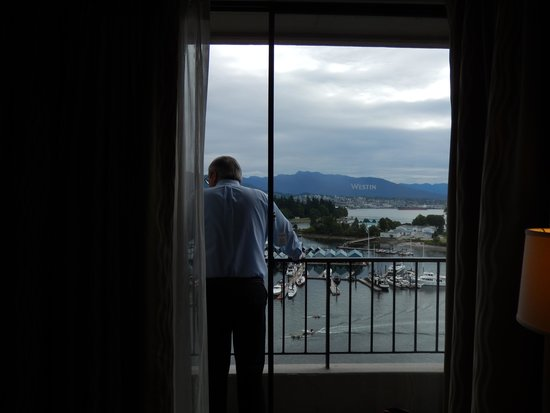 The Westin Bayshore, Vancouver: View from French Balcony